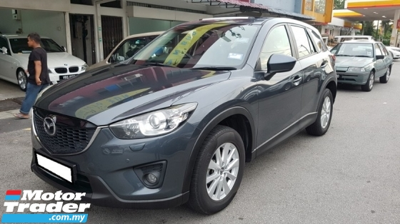 2012 MAZDA CX-5 SKYACTIV 2.0L HIGH 2WD (A) REG NOV 2012, IMPORT NEW MODEL, ONE CAREFUL OWNER, FULL SERVICE RECORD, LOW MILEAGE DONE 103K KM, 100% ACCIDENT FREE, SUNROOF, REVERSE CAMERA, 17\