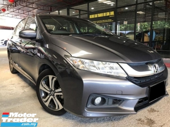 2017 HONDA CITY 1.5V SPEC PUSH START LEATHER SEAT ONE OWNER FULL SERVICE RECOURD LIKE NEW