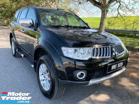 2012 MITSUBISHI PAJERO SPORT 2.5 (A) VGT 1 Director Owner Only Paddle Shift 4wd Leather Seat TipTop Condition View to Confirm