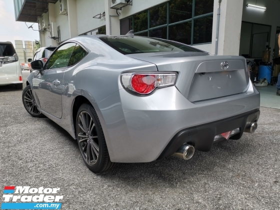 2015 TOYOTA 86 2.0 GT STYLE CB LIMITED EDITION SILVER COLLECTION UNIT OFFER UNREG