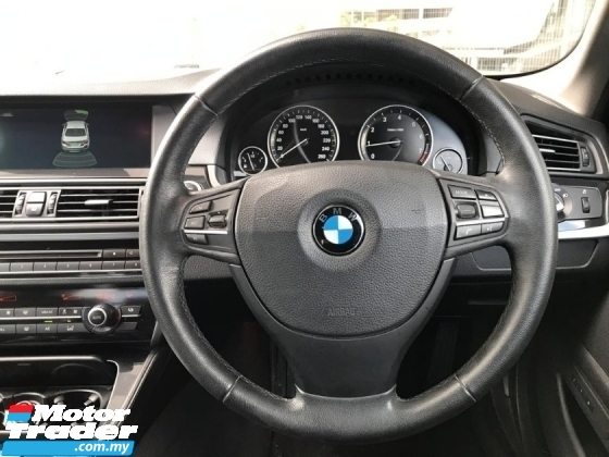 2014 BMW 5 SERIES  520i (CKD) 2.0 G-SERIES M-SPORT FACELIFT TWIN TURBO ENGINE FACELIFT TIPTOP CONDITION