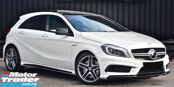 2015 MERCEDES-BENZ A45 2.0 AMG TURBO -SUNROOF WITH ULTIMATE RECARO BUCKET SEAT