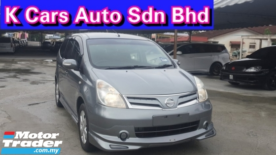 2012 NISSAN GRAND LIVINA IMPUL 1.6L (A) ACTUAL YEAR 7 Seat MPV Car Keep Excellent Condition Original Paint Never Accident Before Keep On Time Service Worth Buy