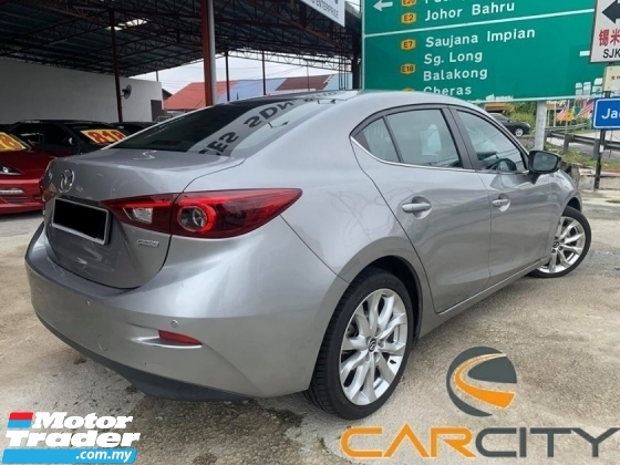 2017 MAZDA 3 CKD 2.0 SDN (GL) HIGH SPEC FULL SERVICE RECOURD ONE LADY OWNER LIKE NEW