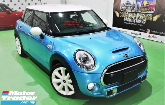 2015 MINI 5 DOOR 2015 MINI COOPER S 2.0A TWIN TURBO FACELIFT JAPAN SPEC CAR SELLING PRICE ONLY ( RM 149,000.00 NEGO )
