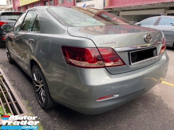 2007 TOYOTA CAMRY 2.4V Actual Year Make