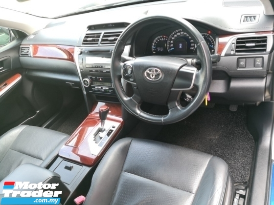 2012 TOYOTA CAMRY 2.0 G TRUE YEAR MADE 2012 (FREE 2 YEARS WARRANTY)