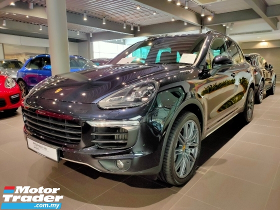 2017 PORSCHE CAYENNE  S 3.6 TURBO PORSCHE MSIA DEMO UNIT WITH WARRANTY