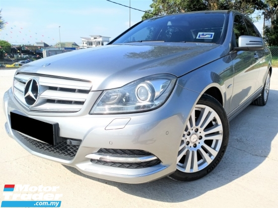 2011 MERCEDES-BENZ C-CLASS C200 BLUE EFFICIENCY AVANTGARDE ***CAR KING