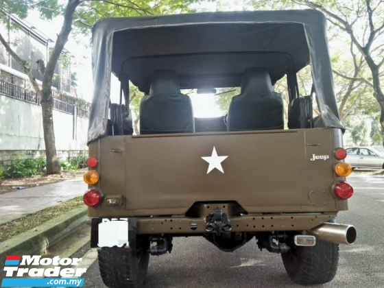 1992 MITSUBISHI JEEP CLASSIC 2.0 (M)(P) 4x4 **J58 ENGINE 2.0 PETROL, LIMITED UNIT IN MARKET**