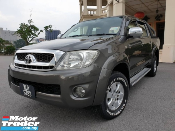 2011 TOYOTA HILUX DOUBLE CAB 2.5G (AT) NO OFF ROAD  FACELIFT