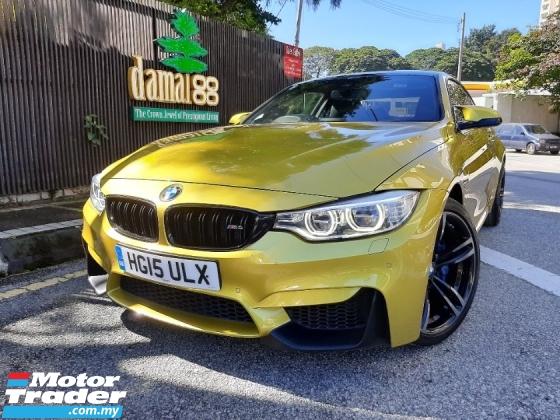 2015 BMW M4 3.0 FULL SPEC