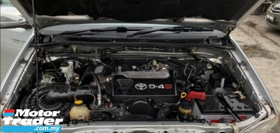 2007 TOYOTA HILUX DOUBLE CAB 2.5 G SPEC (AUTO) / D-4D ENGINE / 4WD / TIPTOP CONDITION