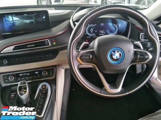 2016 BMW I8 1.5 TURBOCHARGER HYBIRD 333 HP 360 CAMERA 20 INCH SPORT RIM AFTER LESS SALES TAX OFF