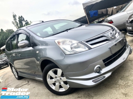 2013 NISSAN GRAND LIVINA IMPUL 1.6L (A) 1 OWNER TIP-TOP CONDITION
