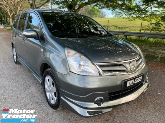 2012 NISSAN GRAND LIVINA IMPUL 1.6L (A) Facelift Model Impul Bodykit TipTop Condition Like New View to Confirm