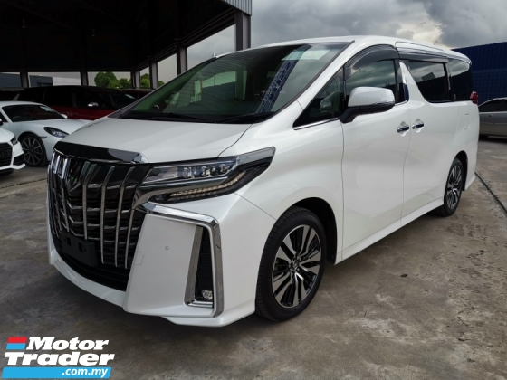 2018 TOYOTA ALPHARD 2.5 SC JBL HT 4Cam PCS LKA Unreg Sale Offer