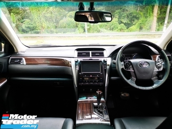 2016 TOYOTA CAMRY Toyota CAMRY 2.5 HYBRID PREMIUM (A) FULL LEATHER SEAT 1 OWNER