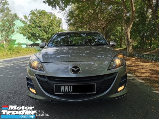 2012 MAZDA 3 SPORT 1.6 (A) SEDAN - SUPERB ORIGINAL CAR CONDITION ( MUST VIEW )