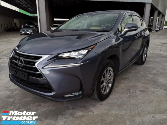 2017 LEXUS NX 200T I Package 4Cam PCS BSM LKA Unreg Sale Offer