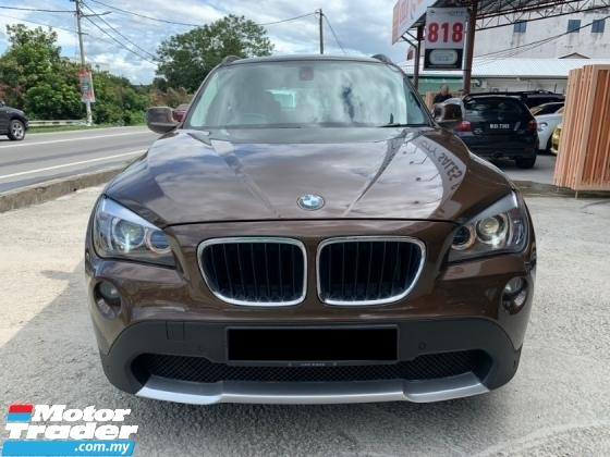 2013 BMW X1 S DRIVE 18I CKD FACELIFT LADY 1 OWNER TIPTOP LIKE NEW CAR