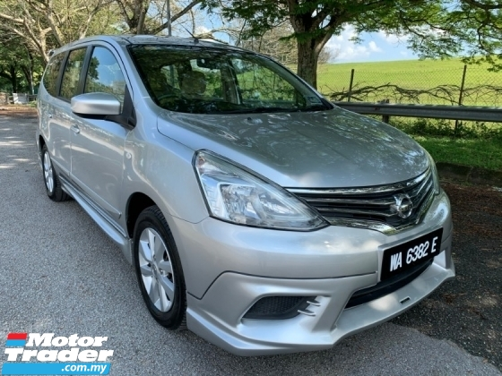 2015 NISSAN GRAND LIVINA IMPUL 1.6L (A) Full Service Record 1 Owner Only Original Seat Full Set Impul Bodykit TipTop Condition Like New View to Confirm