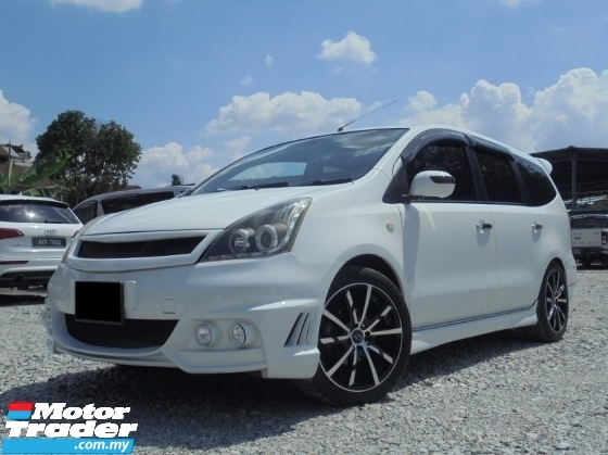 2009 NISSAN GRAND LIVINA 1.6 ST-L RCam TipTOP Condition