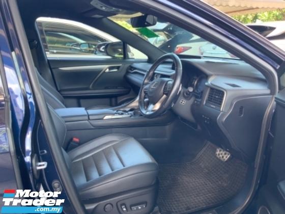 2017 LEXUS RX 200t F sport head up display power boot back left camera memory seat precrash system lane assist