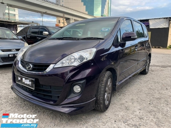 2014 PERODUA ALZA ADVANCE FACELIFE 1.5 AUTO / ORI ADVANCE LEATHER SEAT / TOUCH SCREEN / DVD PLAYER / REVERSE CAMERA / TIPTOP CONDITION / LOW DOWN PAYMENT