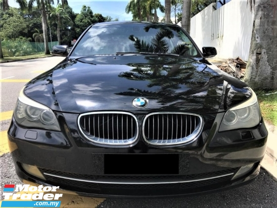 2009 BMW 5 SERIES 523I Special Edition 1Jam Lulus Promotion Bank Last Call !!
