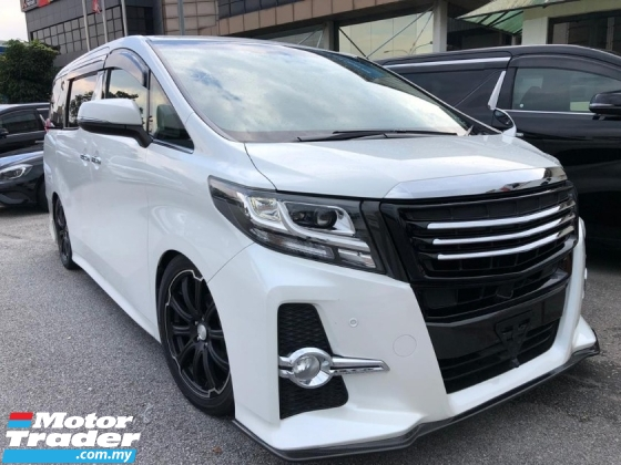 2015 TOYOTA ALPHARD 2.5 S Modelista Kit 7S 2PDR Unreg Sale Offer