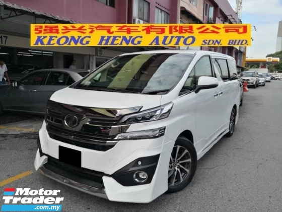 2016 TOYOTA VELLFIRE 3.5 VL MODELISTER JBL THEATER TRUE YEAR MADE 2016 FULL SPEC NICE WILAYAH NO 6666