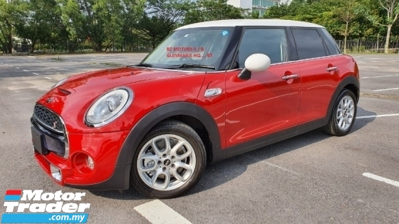 2015 MINI 5 DOOR 2015 MINI COOPER S 2.0A TWIN TURBO FACELIFT JAPAN SPEC CAR SELLING PRICE ONLY ( RM 143000.00 NEGO )
