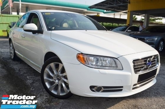 2014 VOLVO S80 2.0 T5 EXCLUSIVE (A) SERVICE RECORD