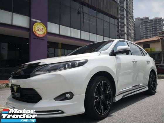2016 TOYOTA HARRIER 2.0 ELEGANCE SPEC WITH JBL SOUND AND ROOFTOP