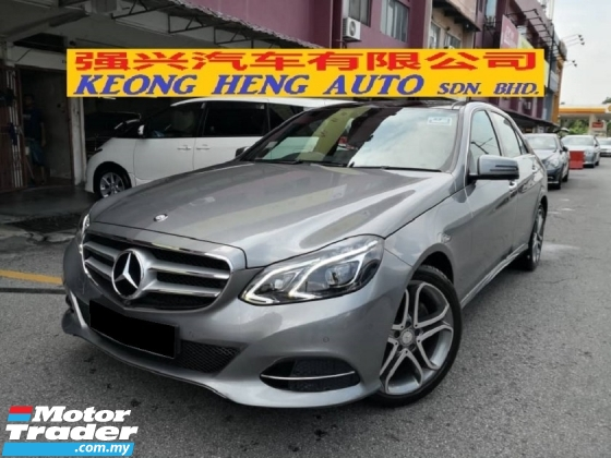 2014 MERCEDES-BENZ E-CLASS E250 2.0 Avantgarde Premium CKD TRUE YEAR MADE 2014 Mil 52k km Cycle Free 1 Year Warranty