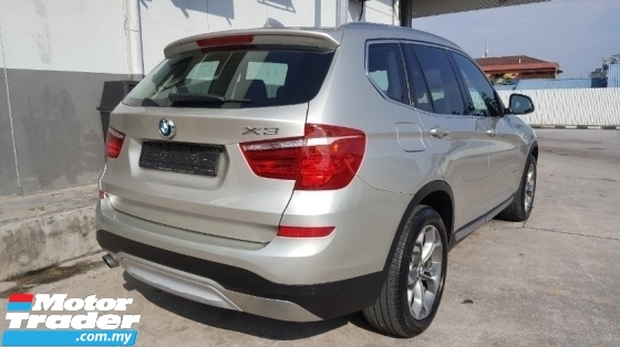 2015 BMW X3 XDrive20i 2.0 Facelift (CKD) (Actual Year) Full Service By Auto Bavaria BMW Original Paint Confirm Accident Free No Repair Need Worth Buy