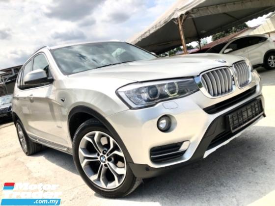 2016 BMW X3 2.0 x-DRIVE (A) FULL SERVICE RECORD AUTO BAVARIA