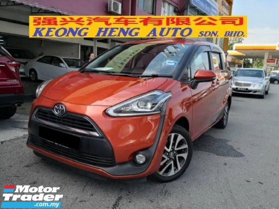 2016 TOYOTA SIENTA 1.5 V Edition Full Spec TRUE YEAR MADE 2016 Small MPV with Auto Sliding Doors