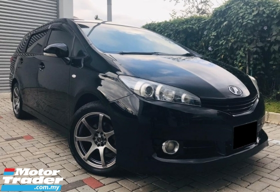 2011 TOYOTA WISH 1.8 X (A) SPORT LOOK TOP SERVICE