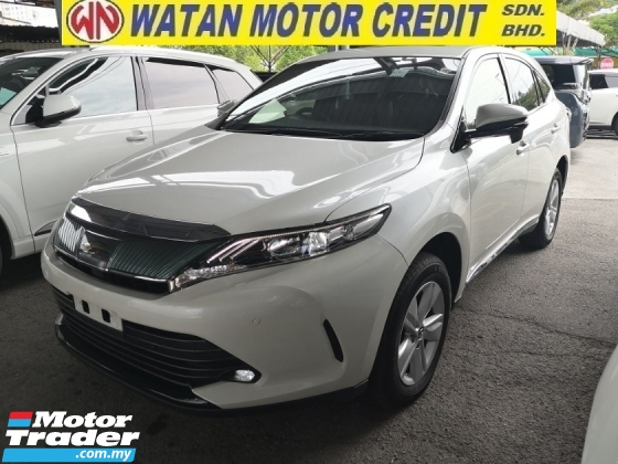 2017 TOYOTA HARRIER 2.0 INC SST 360 CAM SUNROOF PRE CRASH LANE KEEPING ASSIST POWER BOOT JAPAN UNREG
