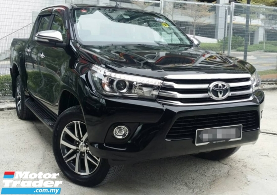 2017 TOYOTA HILUX 2.8 G AT Pickup 4X4 DC (TRUE YEAR MAKE)(LOW MILEAGE)(ONE OWNER)(2 YEAR WARRANTY)