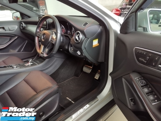 2015 MERCEDES-BENZ GLA 45 AMG 4Matic PCS BSM Unreg Sale Offer