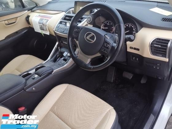 2015 LEXUS NX 200t 2.0 Luxury SUV SUNROOF/POWER BOOT/CREAM INTERIOR UNREG