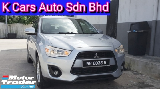 2015 MITSUBISHI ASX 2.0 2WD Facelift (Actual Year) Low Mileage Original Paint Confirm Accident Free No Repair Need Worth Buy