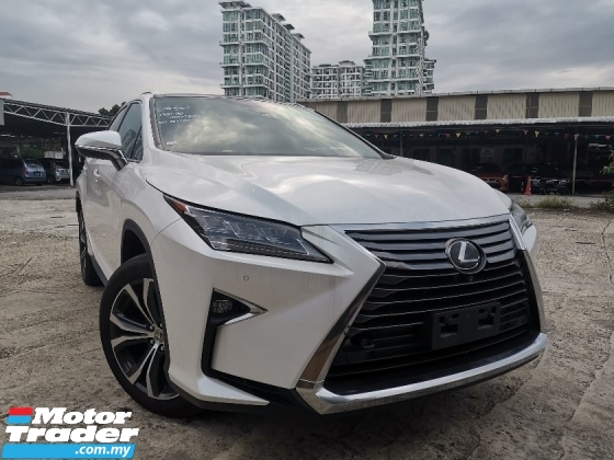2017 LEXUS RX 200t 2.0 Luxury SUV FULL SPEC SUNROOF/SURROUND CAM/POWER BOOT UNREG