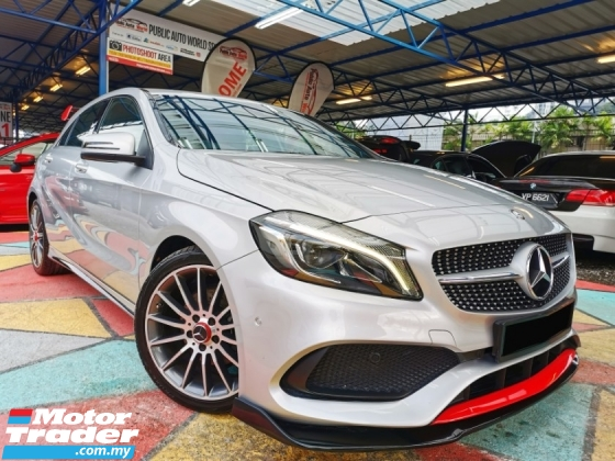2015 MERCEDES-BENZ A-CLASS Mercedes Benz A200 AMG NEW FACELIFT F/SERVICE WRTY