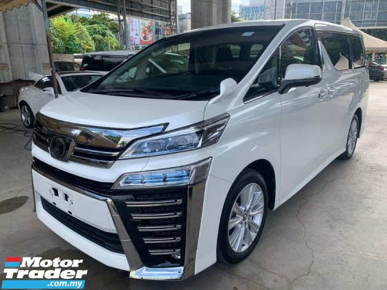 2018 TOYOTA VELLFIRE 2.5Z New Facelift #60 Surround Camera Power Boot Android Player Loan Provided Unregister SST Inslusive