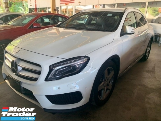 2015 MERCEDES-BENZ GLA 180 AMG  JAPAN SPEC UNREGISTER Memory Seat Reverse Camera Power Boot SST Inclusive Loan Provide