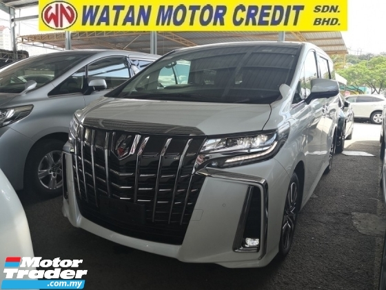 2018 TOYOTA ALPHARD 2.5 SC Facelift Inc SST Android Media Player 360 Cam Sunroof  Pre Crash Lane Keeping Assist Unreg